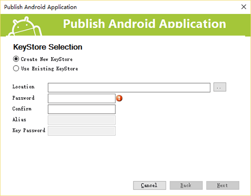 Publish Android APP
