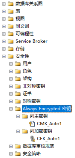 Always Encrypted 始终加密